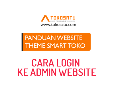 THEME SMART TOKO #1 login ke admin website