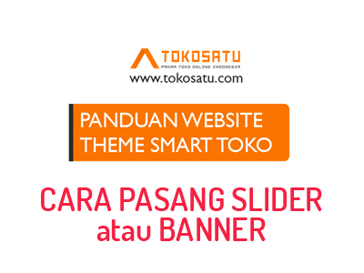 THEME SMART TOKO #5 Cara pasang slider